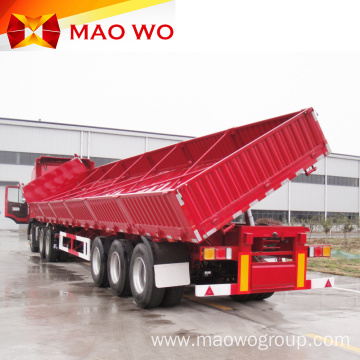 3 Axles Hydraulic Side Tipper Semi Trailer
