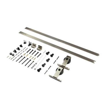 SN Industrial design barn door sliding hardware kits