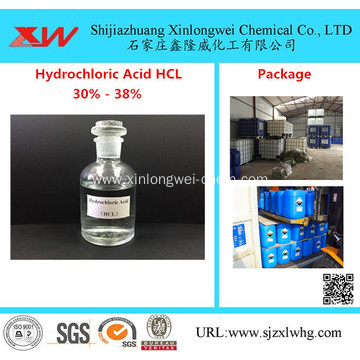 36% Hydrochloric Acid HCL with Quick Delivery