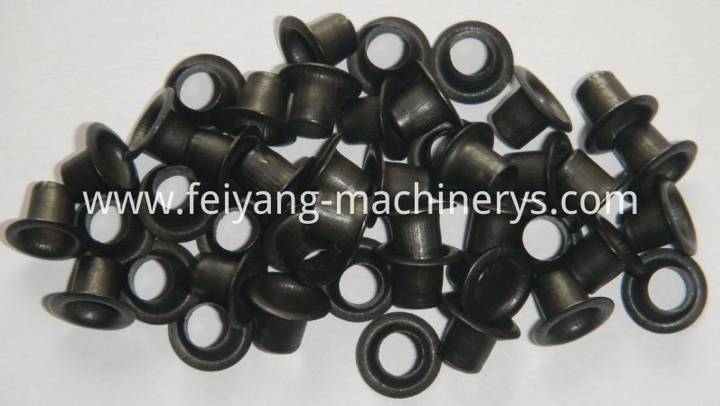 black color eyelets for paper bags