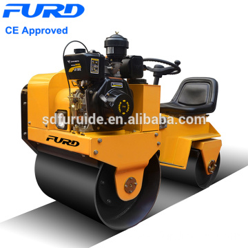 700kg Double Drum Soil Compactor Machine (FYL-850)