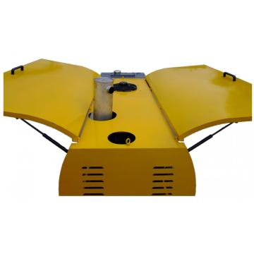 Portable Hydraulic Concrete Converying Transport Pump