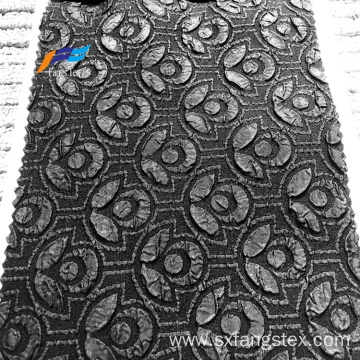 Hot sale folding bubble jacquard fukulo fabric abaya