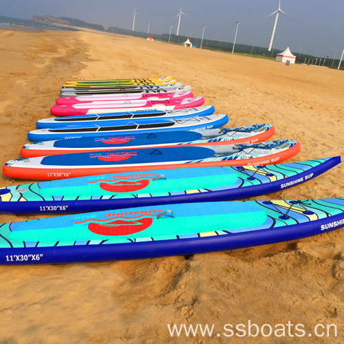 customized colour and design sup paddle board