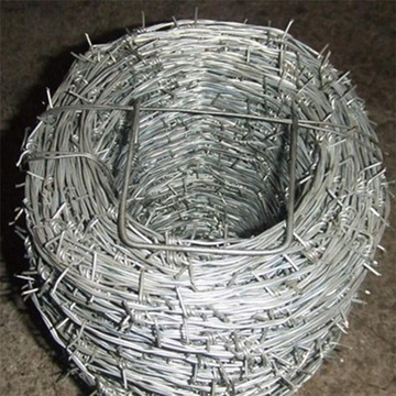 low price galvanized steel barbed wire