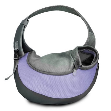 Lilac XLarge PVC and Mesh Pet Sling