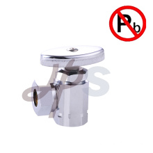 manual toilet brass angle valve FIPxOD