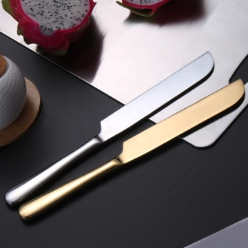 stainless steel cake fruit dessert bread knife