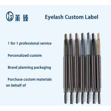 Makeup private label single or multi-color eyebrow pencil