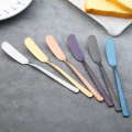 Multi-colored Stainless Steel Dessert Jam Butter Knife