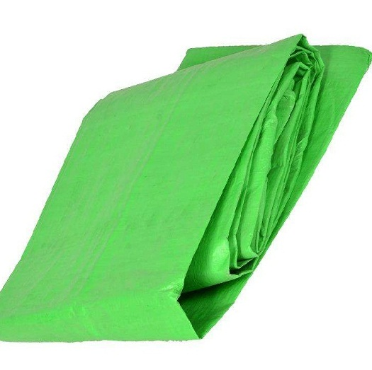 Green Color PE Tarps