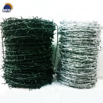 2.00MM 50KG/roll hot dip galvanized barbed wire