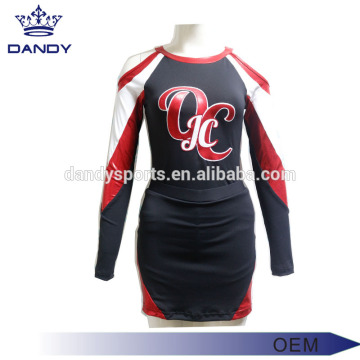 Stripes USA Style Cheerleader Costume For Kids