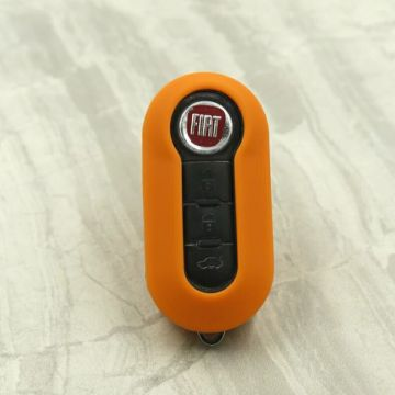 rubber silicone car key shell for Fiat