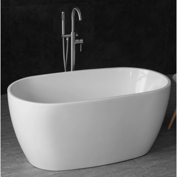 Small Size Simple Design Freestanding Acrylic Bathtubs
