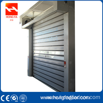 Aluminum high speed rolling door