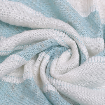 Multi-Colors Coarse Knitted Needle Linen Jersey Fabric