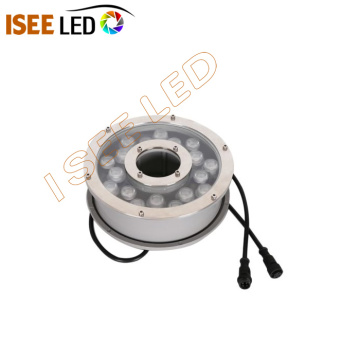 IP68 Round Stainless Steel DMX Digital Underwater Light