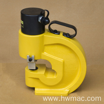hydraulic busbar punching machine with pump