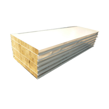 cheapest 50mm rockwool insulation wall sandwich panel