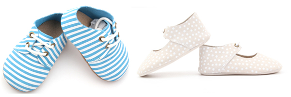 Baby oxford shoes with customized patterns