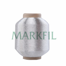 pure silver metallic embroidery yarn