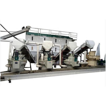 Sawdust and wheat pellet mill