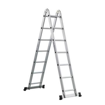 20 step multipurpose aluminum ladder