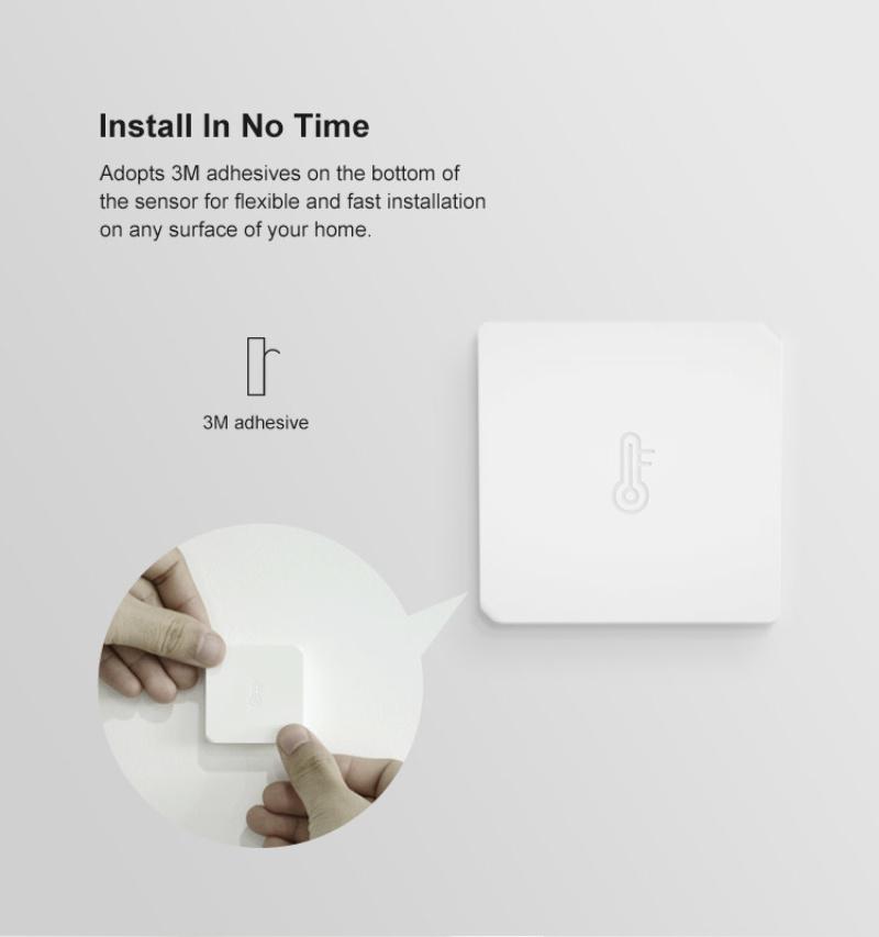 SONOFF Zigbee Temperature Humidity Sensor SNZB-02 Smart Home Automation Modules Work With IFTTT eWeLink App SONOFF ZigBee Bridge
