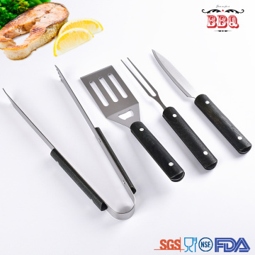 Mini bbq spatula tongs fork knife