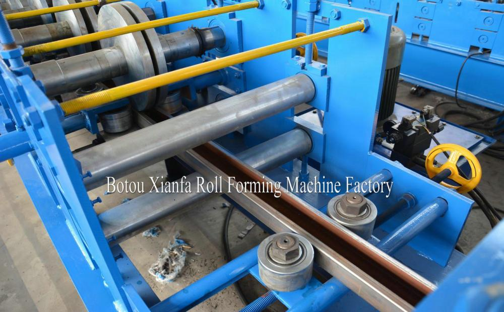 Steel Colored C Purlin Roll Forming Machine