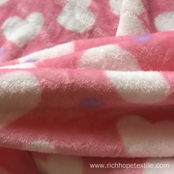 Hot Selling Flannel Polyester Quilt Bed Sheet Fabric
