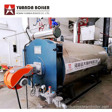 LNG Gas Burn Thermal Fluid Heater Boiler