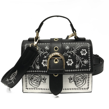 Luxury Handbags Embroidery Shoulder Messenger Bag