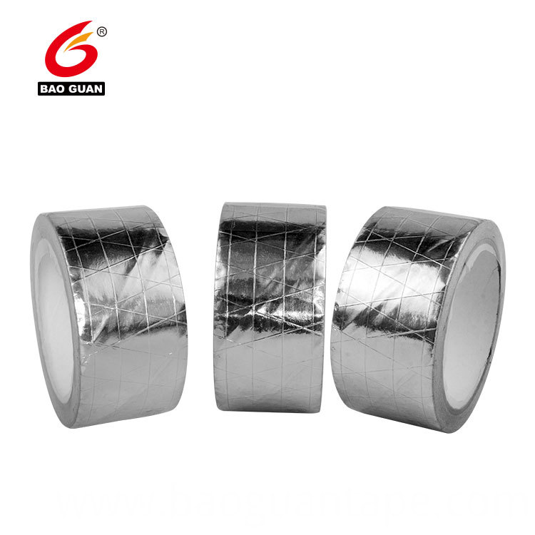 Conductive Adhesive Roofing Reinforced Aluminum Foil Tape 3