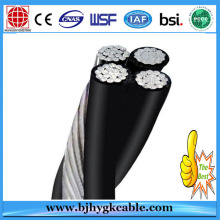 0.6 / 1KV Al Conductor PVC Insulated Overhead Cable