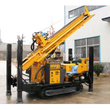 mobiling tractor-mounted trailer water well drill rig