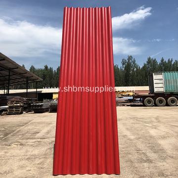 Glazed Corrugated MgO Roofing Sheet