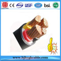PE Ultraviolet Stabilized Middle Volt black power Cable