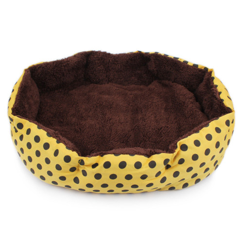 Octagon Shape Soft Fleece Pet Dog Cat Bed