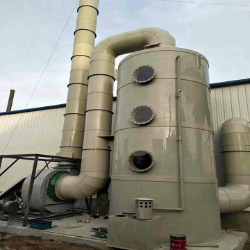 Waste Gas Scrubber for H2s Treatment