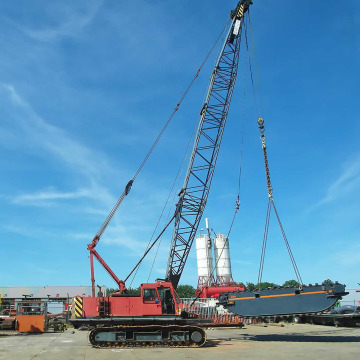 Heavy Equipment Boom Crawler  Crane on Sale