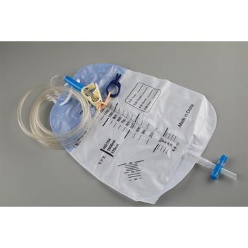 Disposable collection urinary dialysis drainage bags