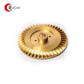 high quality cast water pump brass impeller