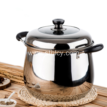 Stainless Steel Sauce Pot With Mirror Polish