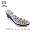 Wedge Sole PU Outsole for Lady Sandals