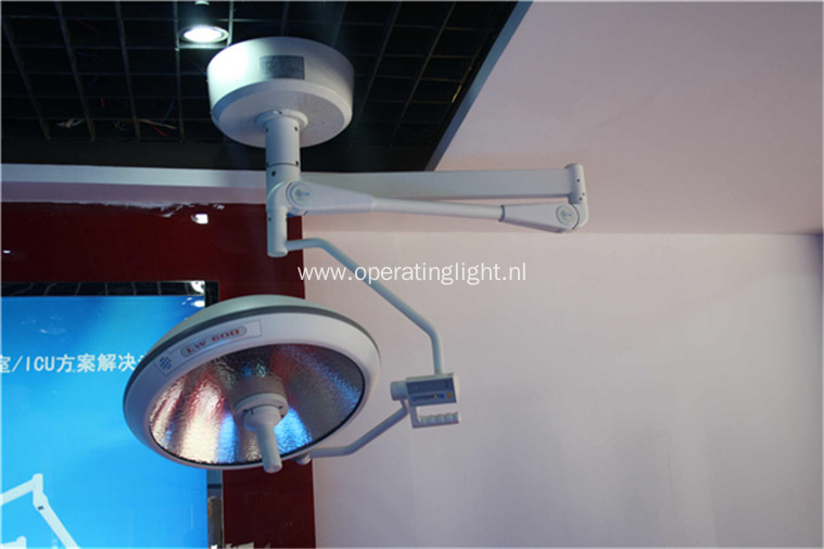 Single dome halogen operating lamps ceiling type