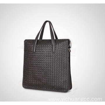 High fashion brand bag genuine leather men bag