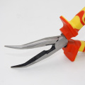 VDE bent nose cutting pliers