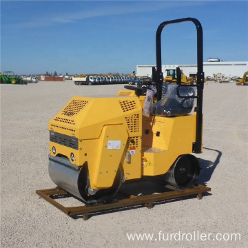 Seat-on Drive Vibration Drum Road Roller Machine with CE certificate